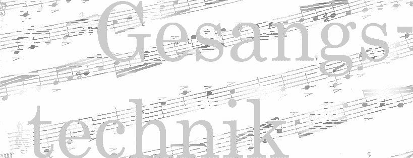 Gesangstechnik