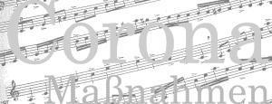 Gesangsunterricht in Coronazeiten